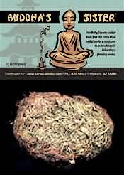 Legal High Potent Buddha's Sister Herbal Buds, Buddha's Sister Smoking Blend