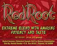 Red Root Herbal Smoke