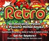 Retro herbal smoke